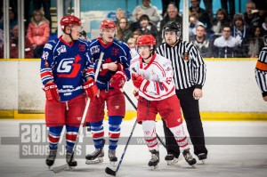 SLOUGH JETS V SWINDON WILDCATS. SLOUGH BERKSHIRE 23 MARCH 2014