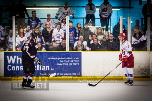 SLOUGH JETS V BASINGSTOKE BISON. SLOUGH BERKSHIRE 26 OCTOBER 2013