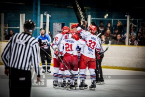 SLOUGH JETS V MANCHESTER PHOENIX. SLOUGH BERKSHIRE 25 JANUARY 2014