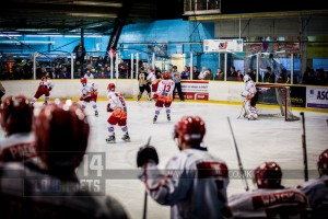 SLOUGH JETS V BRACKNELL BEES. SLOUGH BERKSHIRE 08 FEBRUARY 2014