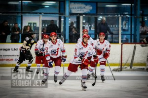 SLOUGH JETS V MILTON KEYNES LIGHTNING. SLOUGH BERKSHIRE 08 MARCH 2014